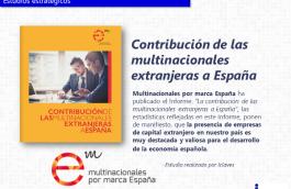 Contribución de las multinacionales extranjeras a España
