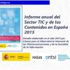 Informe anual del Sector TIC y de los Contenidos en España 2015
