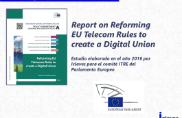 Report: Reforming EU Telecom rules to create a Digital Union
