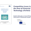 "Estudio ""Competition issues in the Area of Financial Technologies"""