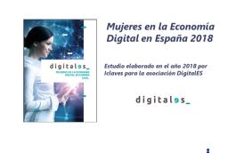 Estudio «Mujeres en la Economía Digital en España 2018»