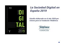 Estudio «La Sociedad Digital en España 2019»
