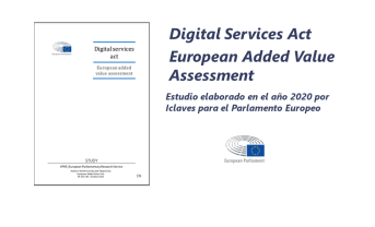 Estudio «Digital Services Act: European Value Added Assessment»