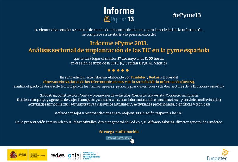 Presentación ePyme13