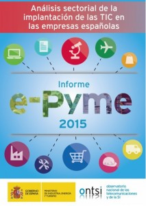 Portada e-Pyme 2015